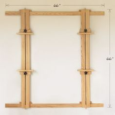 66 Inch Wall Easel with Two Masts