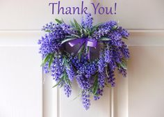 A Lavender Thank you! by Gerry on Etsy