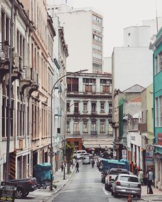 Augusto Severo street - Sao Paulo, Brazil