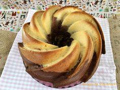 Pulguita Repostera: Bizcocho mármol de vainilla y chocolate