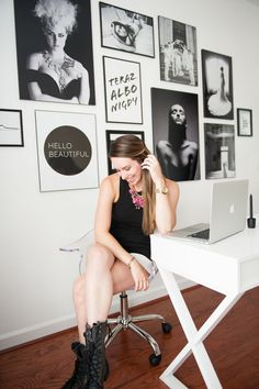 Shannon Moffit's Virginia Beach Office Tour #theeverygirl