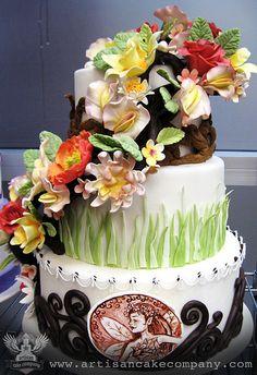 Custom Fondant Cakes by ArtisanCakeCompany