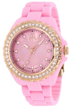 Pretty in Pink! This pink Jivago woman\'s watch is adorable!