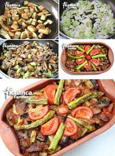 Şehzade Kebabı Tarifi - Kadınca Tarifler - Et Yemekleri - Las recetas más prácticas y fáciles Iftar, Kebab Recipes, Healthy Recipes, Turkish Recipes, Ethnic Recipes, Eggplant Dishes, Turkish Kitchen, Good Food, Yummy Food