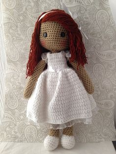 Knitted Dolls, Crochet Dolls, Crochet Hats, Couture, Free Pattern, Winter Hats, Baba, Teddy Bear, Toys