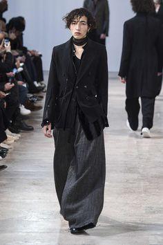 Ann Demeulemeester, Automne/Hiver 2017, Paris, Menswear