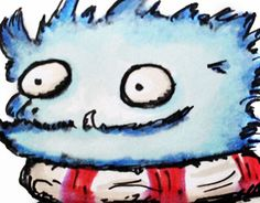 """Check out new work on my @Behance portfolio: """"Weirdy Monsters Illustrations"""" http://on.be.net/1K5QtLj"""