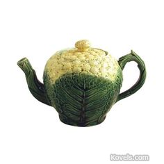 Antique Majolica Pottery Teapot | Antique Majolica | Pottery & Porcelain Price Guide | Antiques ...