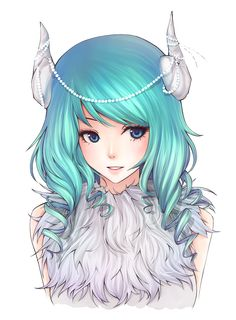 Anime girl omg so furry