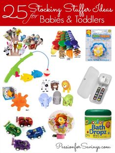 Over 150 Stocking Stuffer Ideas for the whole family to enjoy. Stocking stuffers for boys, girls, women, men and more. The ultimate stocking stuffer list. Baby Christmas Gifts, Babies First Christmas, Christmas Baby, Winter Christmas, Christmas Stockings, Christmas Time, Christmas Ideas, Christmas Gifts For Toddlers, Christmas Activities