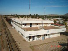 Benjamin Hill estacion de ferrocarril en Sonira Mx.