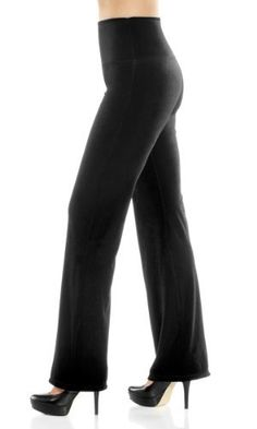 Lysse leggings for women - Stretch Velvet Wide Leg Control Legging Lysse. $68.00