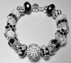 Authentic Pandora Bracelet with Queen Me by QueenMeJewelryLLC, $210.00