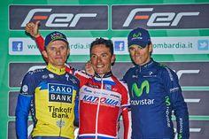 I primi tre classificati sul podio