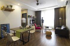 Không gian gọn gàng và tiện ích trong căn hộ 80 m2 - VnExpress Đời sống
