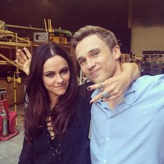 """@AlexandraPark1 from Behind the Scenes of The Royals Season Two  """"Just a couple of bro's having a post wrap high five peace out moment #itadaweekend @theroyalsone #theroyals @goodproblemstohave"""""""