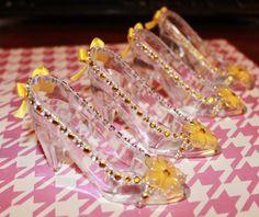 Zapatillas de Princesa color amarillo