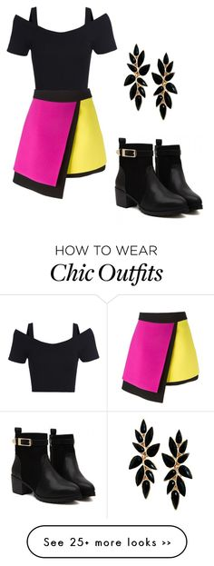 """""""A party look!"""" by gracie-lloyd on Polyvore featuring FAUSTO PUGLISI"""