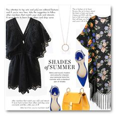 """Kimonos for Spring"" by elly-852 ❤ liked on Polyvore featuring Paul Andrew and Chloé"