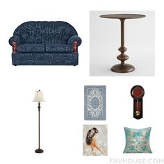 Home Decor Guide With Sofa Cost Plus World Market Floor Lamp And Blue Area Rug From November 2016 #home #decor