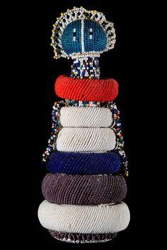 African Dolls, African Art, Tribal Art, Sculpture Art, South Africa, Textiles, Dance, Activity Toys, Glass Beads