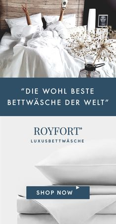 """Die beste Bettwäsche """"Wanted & found: Probably the best bed linen in the world"""". Royfort luxury bed linen guarantees you the best sleeping experience that you have ever had. Sustainably made in Europe Living Room Sets, Living Room Modern, Living Room Decor, Interior Design Living Room Warm, Living Room Designs, Bed Furniture, Bathroom Furniture, Furniture Ideas, Ideas Dormitorios"""