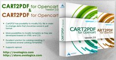 #Ovologics presents great #Extension #module for #Opencart #Cart2PDF Available for #version 1.5.x and 2.x.x  #Ecommerce #Design #Template #OpenCart #PDFcatalog #templates #PDFcatalog  #Stores  #Cart #ShoppingCart