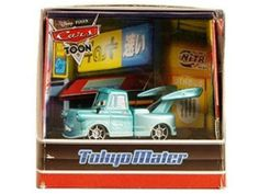 Mattel Disney / Pixar CARS Toon 2010 SDCC San Diego ComicCon Exclusive Tokyo Mater. Rare collectible that has been discontinued by manufacturer.