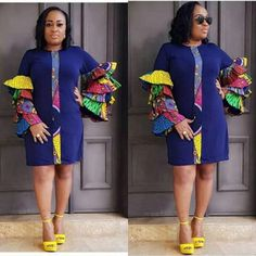 These classy Ankara styles will make you locate your tailor; if you want to turn heads at the next event you attend, then you need these Ankara styles to make a difference Short African Dresses, Latest African Fashion Dresses, African Print Dresses, African Print Fashion, Ankara Fashion, African Clothes, African Prints, African Attire, African Wear