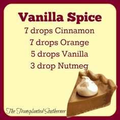 The Transplanted Southerner: 5 Fall Scents for Your Diffuser (or make wax melts!)
