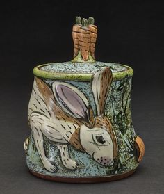 Lisa Naples - Ceramic Sculpture and Handmade Earthenware Pottery