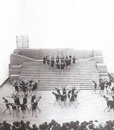 Hans Poelzig, Erich Mendelsohn, Walter Gropius, Shelter, Studios, Stage, Urban, Black And White, Architecture