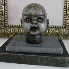 Creepy Doll Head Decorations