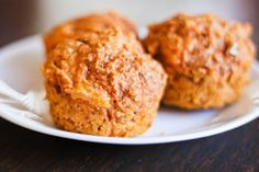 Chipotle Cheddar Sweet Potato Muffins ~ Is Yummy