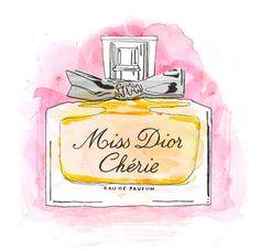 Mon parfum. (It smells like France!) My favorite!