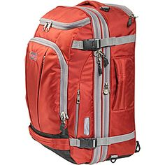 The eBags TLS Mother Lode Weekender Convertible is the same size standard wheeled luggage, only it's carried like a backpack. It features a large shape with tons of organizational compartments and a protective pocket for your laptop. Travel Backpack Carry On, Laptop Backpack, Travel Packing, Backpack Bags, Mother Lode, San Francisco Chronicle, Best Laptops, Travel Organization, Backpack Straps