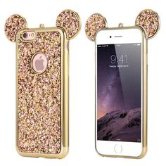 Mouse Glitter Cover For iPhone 6 Plus iPhone 7 8 Plus X Phone Case Cute Coque Capa For iPhone SE S Cases - Iphone Plus Glitter Case - Iphone Plus Glitter Case ideas - Diy Iphone Case, Glitter Iphone 6 Case, Iphone 5s Covers, Iphone Phone Cases, Iphone 4, S8 Phone, Iphone 8 Plus, Disney Phone Cases, Cute Phone Cases