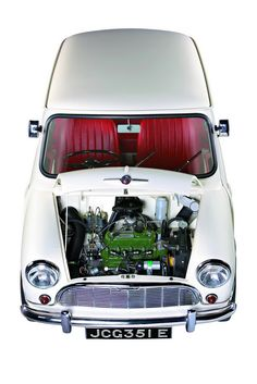 Austin/Morris Mini - The 100 most beautiful cars (The Daily Telegraph) - The Car of the Century Mini Cooper Classic, Mini Cooper S, Classic Mini, Classic Cars, Austin Mini, Mini Morris, Automobile, John Cooper Works, Mini Countryman