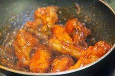 Chicken Wings with Tomato Sauce - Cánh Gà Sốt Tương Cà