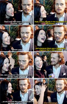 #SamCait - possibly the best interview yet these two have done together...