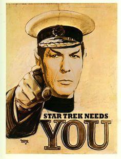 Star Trek Needs You - star-trek Fan Art