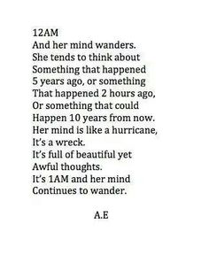 A mind full of chaos