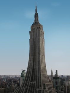 The Empire State Tower. #Photoshop
