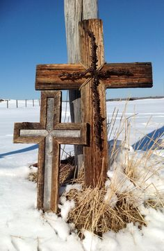 Beautiful reclaimed wood crosses
