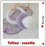 Crochet Pacifier - FREE Pattern