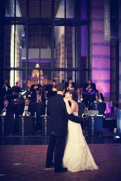 First dance for the newlyweds! Photo by Troy. #minneapolisweddingphotographers #minnesotahistorycenter #firstdance #brideandgroom