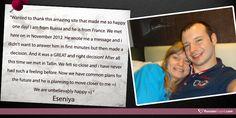 Eseniya met her true love on RussianCupid.