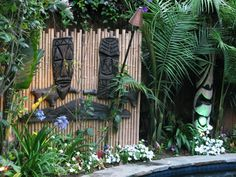 Tiki party decor