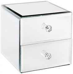 American Atelier Allure by Jay Mirror Jewelry Box with 3Drawers