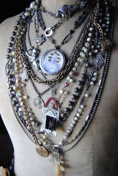 christine wallace ♥ - I have a ton of vintage Black Madonna medals and have been wondering what to do with them